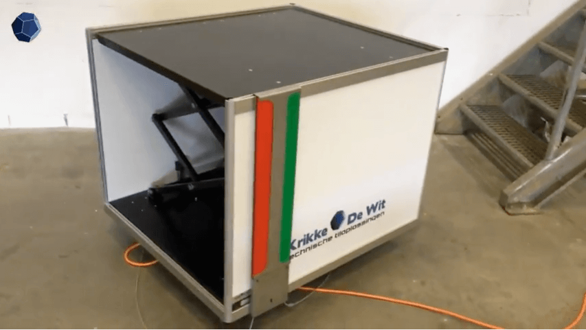 Tilhulp Q060 Elektrische bodembak